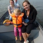 20-May-2011: Robert, Sjoukje, Danique and Tania in Giethoorn (NL).