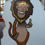 26-May-2011: Danique as a cartoon (indoor fair).