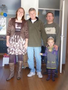 2011-10-16: Sjoukje, Joeck, Ton and Danique