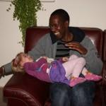 Sa 14-Jan-2012: Mateus and Anita were visiting