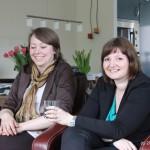 21-Apr-2012: Sjoukje and Dettie.