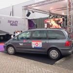 NOS broadcasting car