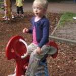 Danique's first school trip