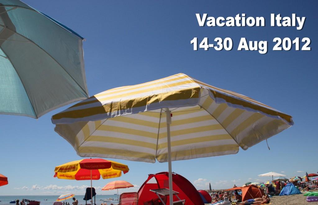 Vacation Italy 2012