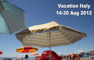 Vacation Italy 2012 (Google+ version)
