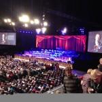 Andre Rieu concert in Ziggo Dome Amsterdam