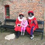 Danique with the black Piets